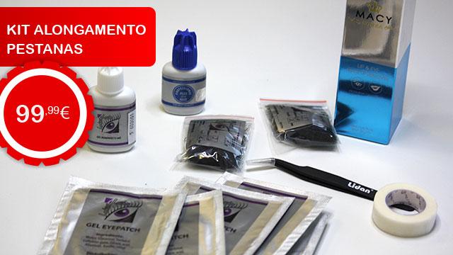 Kit Alongamento Pestanas